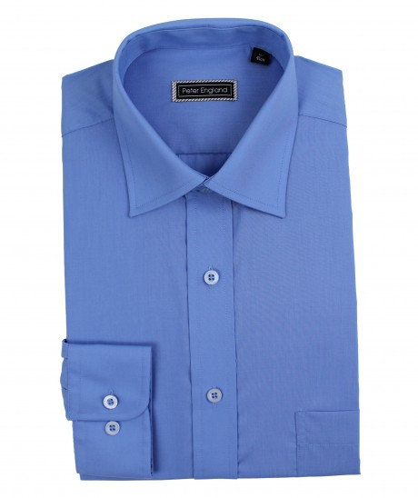 Peter England Mens Plain Shirt