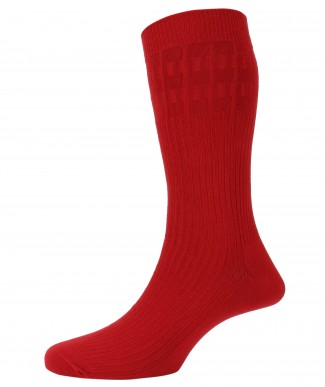 Mens No Elastic Cotton Rich Socks from Peter England